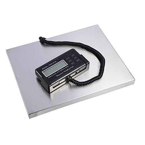 Balanza Digital Báscula de Plataforma 150kg / 300kg, LED Pantalla de Visualización, para Paquetes postales, Balanzas Digitales Comerciales