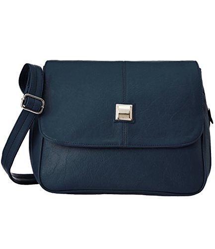 Fristo women handbag (FRB-056)(Blue)