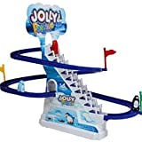 #6: Sale Baba Funny Penguin Battery Operated Race Toy, Multi Color
