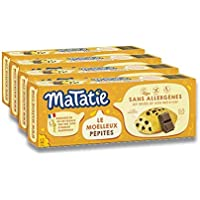 Matatie Moelleux Pépites de chocolat | Sans allergènes* & sans gluten | Lot de 4 paquets