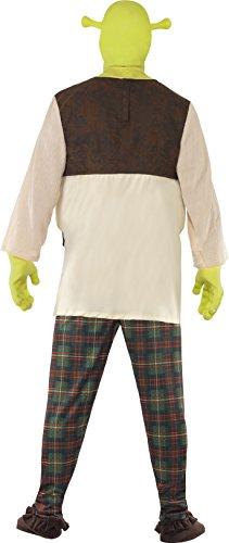 Imagen de smiffy's  disfraz de shrek para hombre, talla uk 42  44 38357l  alternativa