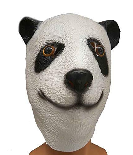 C-Y Halloween Panda Kopfmaske Face Parties, Für Pubs Im Freien Festivalneuheit Und Gruseliges Cosplay - Panda Kostüm Streich