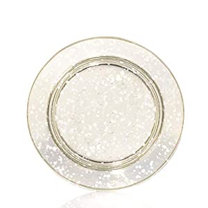Yankee Candle Kensington Clear Glass Shade & Plate (Small)