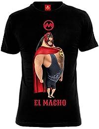 T-shirt Minions El Macho coton noir