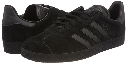 Adidas Men's Gazelle Gymnastics Shoes, Core Black, 9 Uk 43 13 Eu