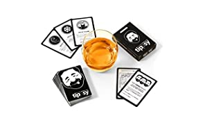 DENKRIESEN tippsy - THE ICONIC DRINKING GAME - Waterproof Party Game - Ring of Fire - Kings Cup - A Fun Game for Students - Predrinking Card Game