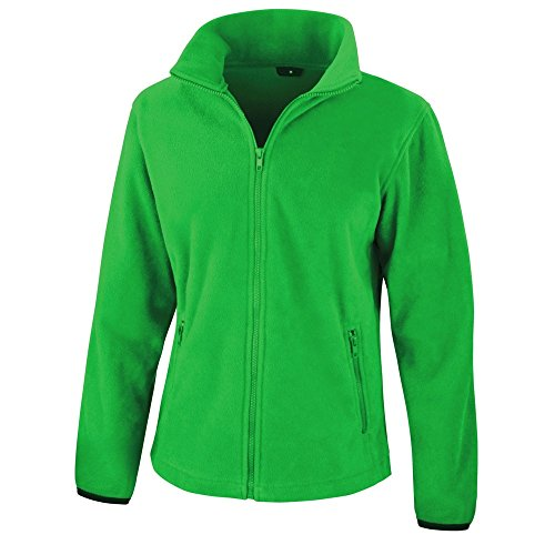 Result Damen Core Fashion Fit Fleece-Oberteil / Fleecejacke (XL) (Grün) -
