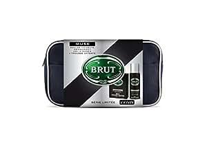 Brut Trousse Musk Eau de Toilette 100 ml + Déodorant 200 ml + Mini-Gel de Rasage 75 ml