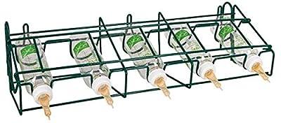 Lämmerflasche ANTI-VAC PowerPak Halterung mit 5 Flaschen von Arndt bei Du und dein Garten