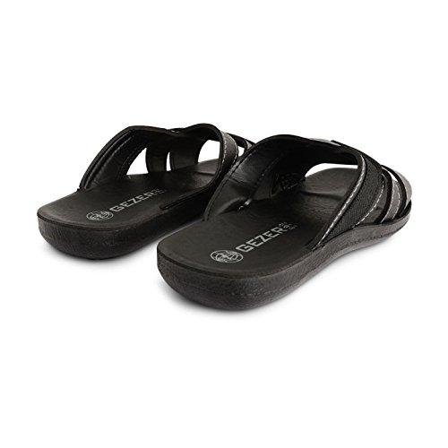 Footwear Sensation ,  Herren Slipper, Pantoletten Jame Black