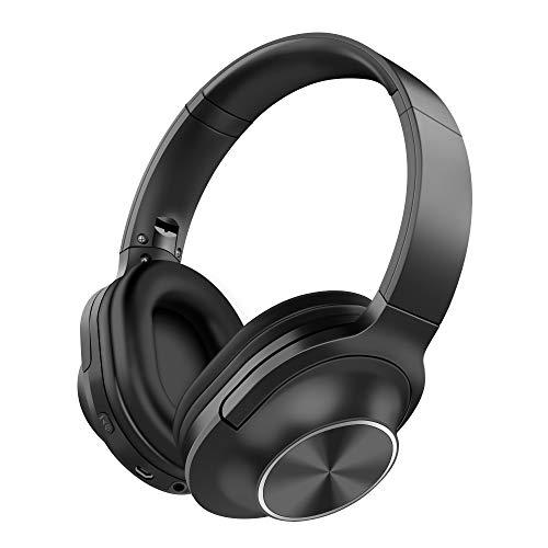 d38c1c02a Auriculares Inalámbrico Diadema, Bluetooth 4.2 Plegable Hi-Fi Estéreo  Headphone Over Ear Cascos con