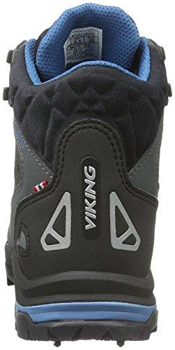 Viking Ascent Ii Spikes, Scarpe da Escursionismo Unisex – Adulto Nero (Schwarz (Black/Silver 246))