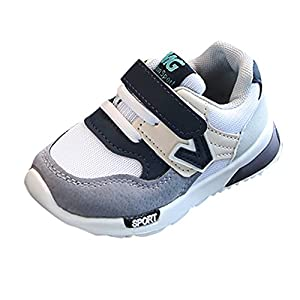PLOT Baby Boys Girls Children Casual Sneakers Mesh Soft Running Toddler Shoes