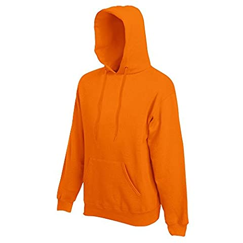 Fruit of the Loom - Kapuzen-Sweatshirt 'Hooded Sweat' M,Orange