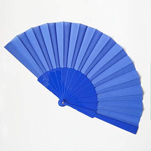 Fan Home Chinesischer Alter Saphir der blauen Arthochzeit des faltenden Gebläses der Art Saphir