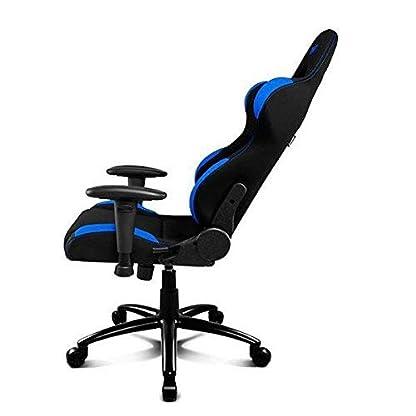 Drift DR100BL – Silla Gaming Profesional, (Tela Alta Calidad, Ergonómica), Color Negro/Azul