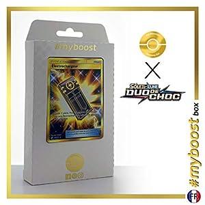 Electrochargeur (Electrocargador) 193/181 Entrenadore Secreta - #myboost X Soleil & Lune 9 Duo de Choc - Box de 10 Cartas Pokémon Francés