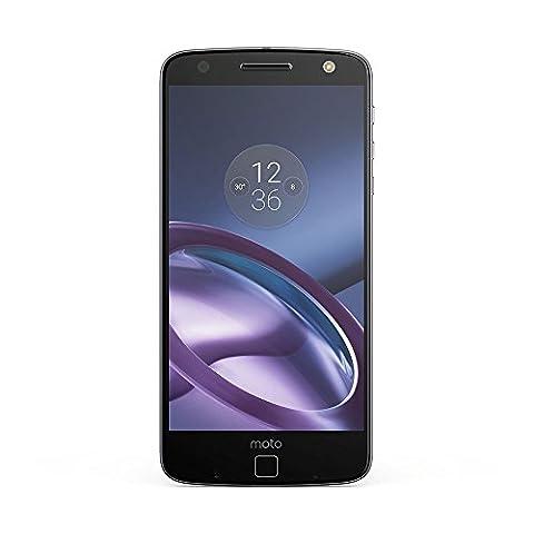 Motorola Moto Z Smartphone (14 cm (5,5 Zoll), 32 GB, Android) Schwarz/Lunar Grau