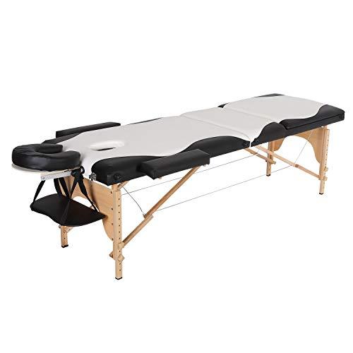 Preisvergleich Produktbild K-Y Massageliege klappbar höhenverstellbar Tragbare Faltmassage Tisch Tattoo Couch Schönheitssalon Therapie Couch Bett Mobile Massageliege
