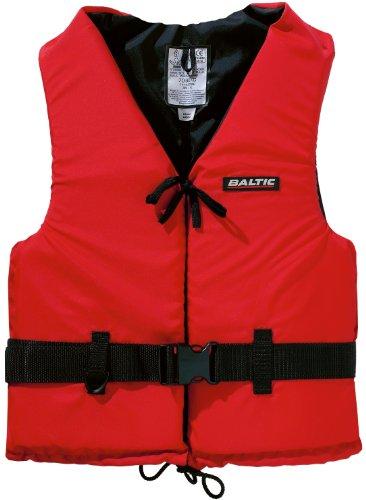 Baltic Schwimmweste Aqua, 50N, 30-50kg, Rot