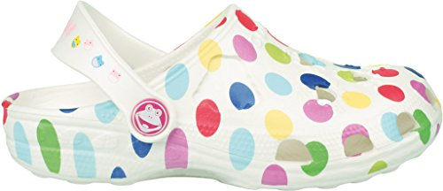 Coqui, Zoccoli bambine White with dots