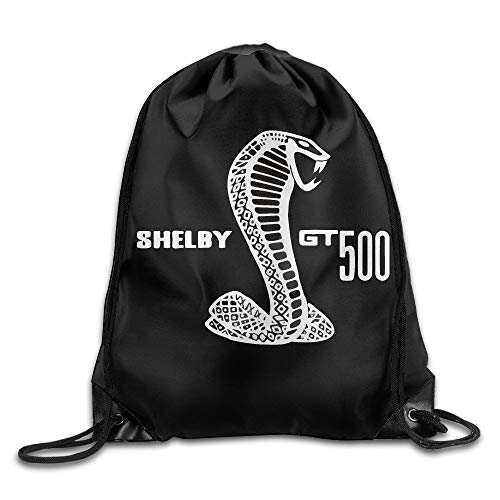 GONIESA Shelby Viper Gt 500 Drawstring Bag,Drawstring Backpack,Sport Bag