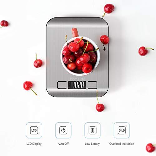 Homever Balance de Cuisine Électronique, Balance numérique...