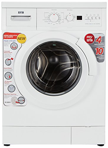IFB 7 kg Fully-Automatic Front Loading Washing Machine (Serena Aqua VX LDT, White)