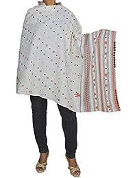 Cashmere Shawl for Girls - Indian Fashion Wool Shawl for Women 84x36 Inchs