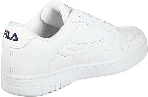 Fila Herren FX100 Low 1010260-1FG Sneaker, Weiß (White), 45 EU (Herren Fila Von Für Tennis-schuhe)