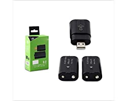 Dobe Rechargeable Battery pack with USB Charging Dock for Xbox One/Xbox One Slim/Xbox One Elite Controller, Xbox series S X C