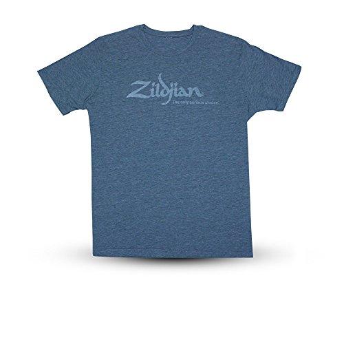 Zildjian Classic T-Shirt - Heather Blue - Größe L - Heather Zubehör