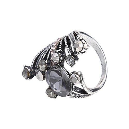 vanpowerwomen persönlich übertrieben Antike Silber Ring mit Bohrer (9)