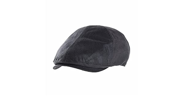 WITHMOONS Coppola Cappello Irish Gatsby Ivy Flat Cap Simple Classic Faux Leather Gatsby Hat SL3857