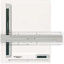 Faber-Castell TK-Sistema - Set de geometría A4, transparente