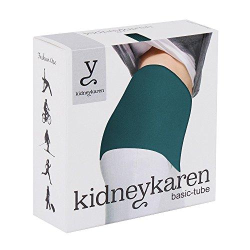 Kidneykaren Damen Nierenwärmer Yoga Fitness & Freizeit Multitube in vielen Farben Dark Petrol