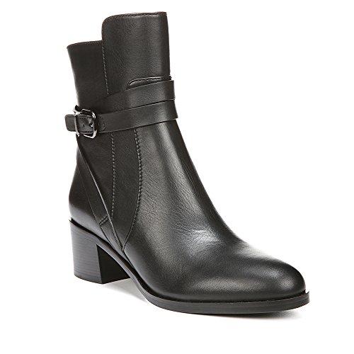 Via Spiga Alden Damen Rund Leder Mode-Stiefeletten Black