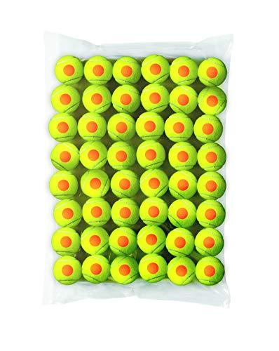 Wilson Tennisbälle Starter Orange für Kinder, gelb/orange, 48er Pack, WRT13730B