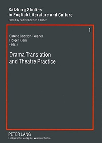 Drama Translation and Theatre Practice Paperback Book New