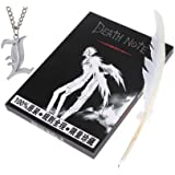 Death Note Notebook with a Quiled Pen plus Nice Key Chain as Gift Set