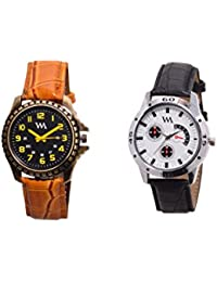 Watch Me Gift Combo Set Of Analog Watches For Men And Boys AWC-013-AWC-014 AWC-013-AWC-014omtbg