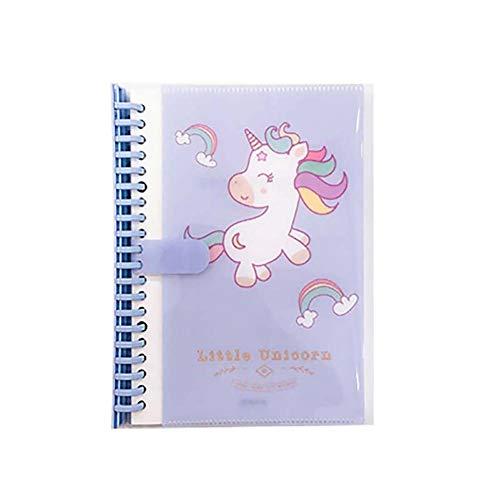 Chytaii. Cuaderno de Notas Cuaderno de Viaje Agendas Cuaderno de Diario Cuadernos Bonitos para Estudiantes Adultos Patrón de Unicornio