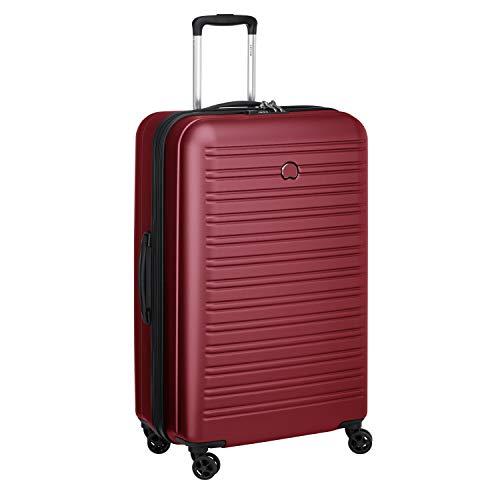 Delsey Paris Segur 2.0 Bagaglio a mano, 70 cm, 105 L, Rosso