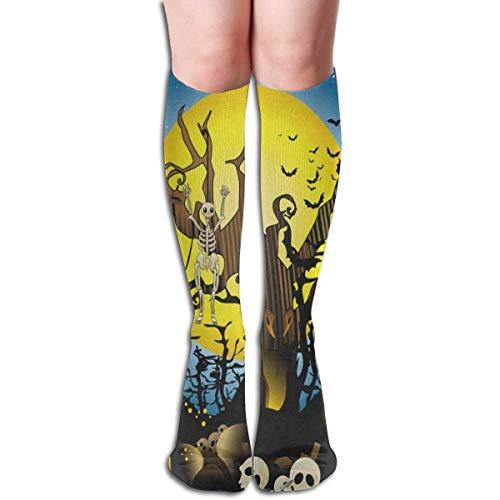 HVCMNVB Custom Women's Knee Socks Dragon Eye Girls Long High Knee Stocking One Size Vintage -