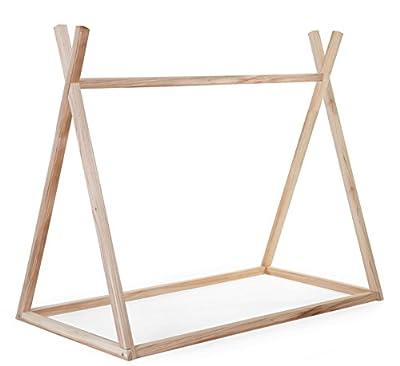 Estructura cama Tipi 70x140cm (sin pintura) CHILDHOME
