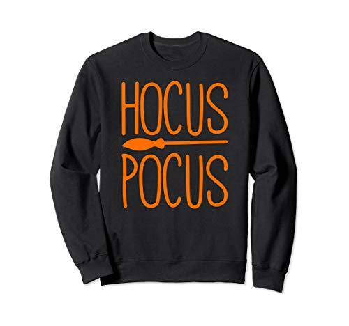Besenstiel Kostüm - Hokus Pocus Besenstiel Hexe Gespenstisch Halloween Kostüm Sweatshirt