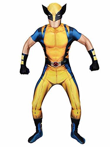 Marvel Wolverine Morphsuit Lizenzware blau gelb schwarz ()