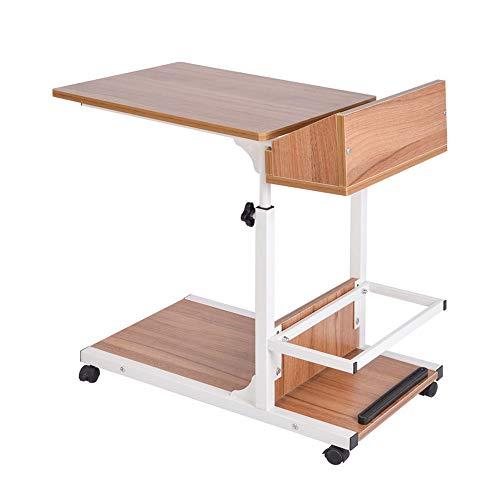 Klapptisch YANFEI Laptop-Tabelle, die einfach ist, um Schlafzimmer-Sofa-Höhen-justierbare Tabelle...