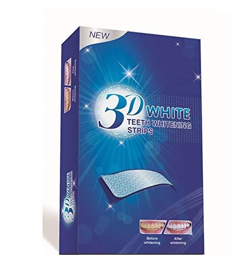 ALLRONDO® 28 White-Stripes Bleaching Stripes Zahnaufhellung-Streifen/Zähne weisser machen professionell -