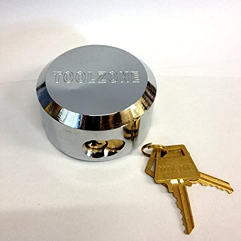 73mm Round Security Shackless Padlock - Replacement Security Lock For Van Locks